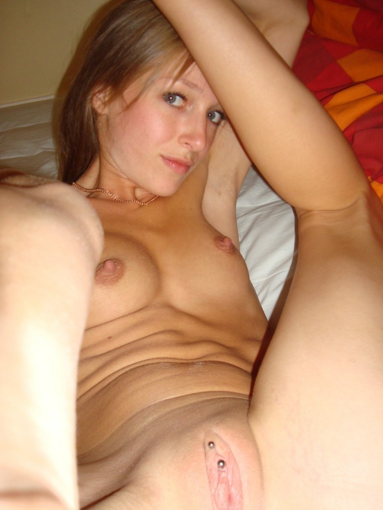 Girl nude on top pov