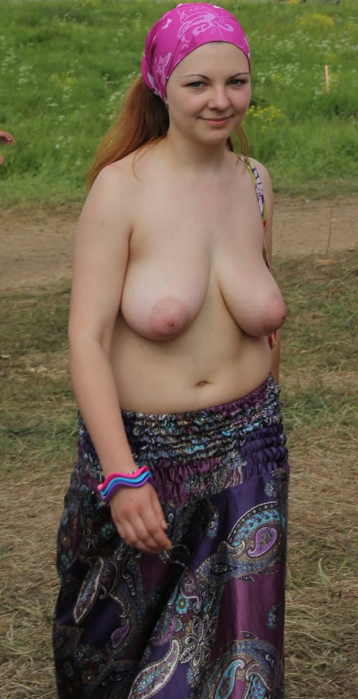 Horny lady is glad to expose her naked slim body to the ...