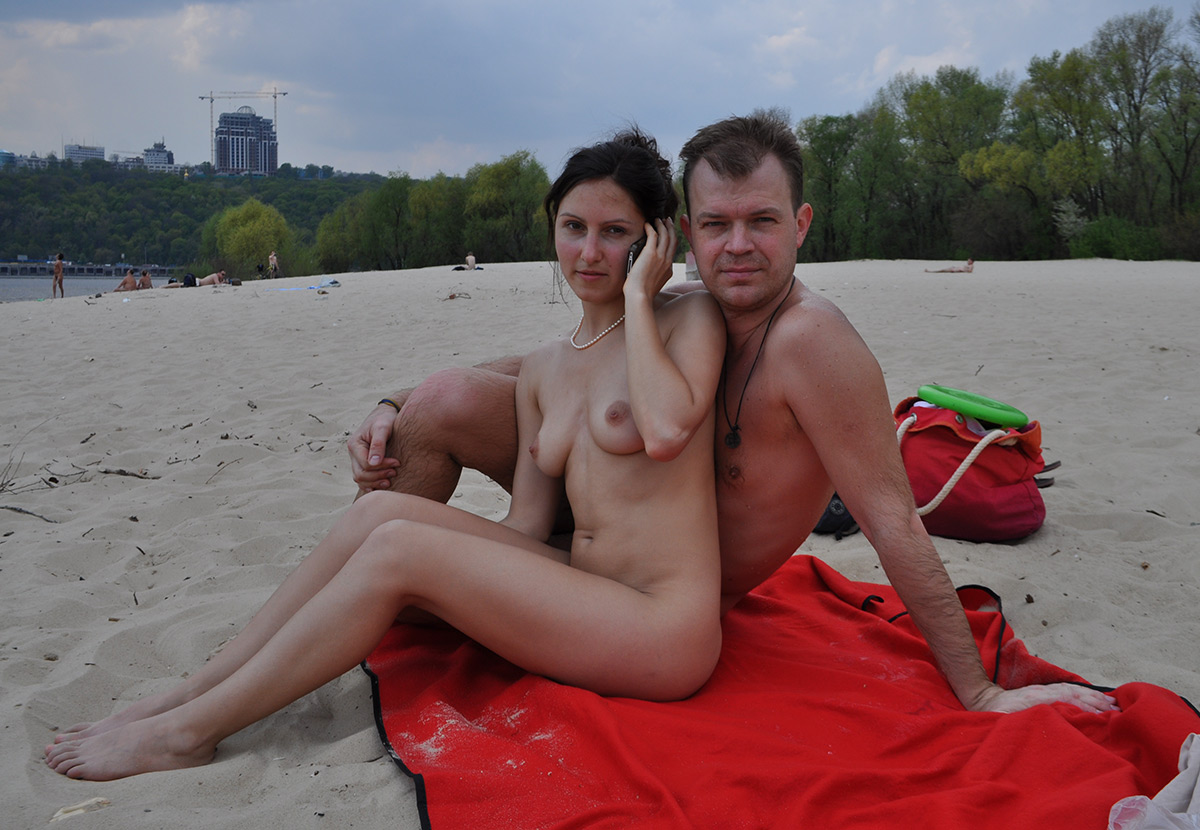 beach Amateur nude wives