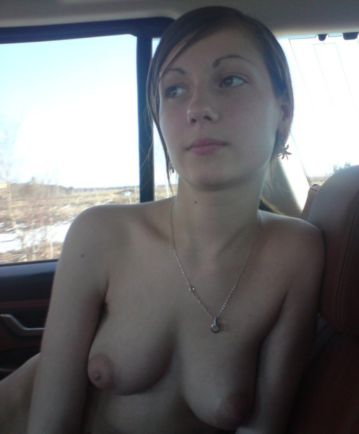 Shy amateur blonde with amazing tits