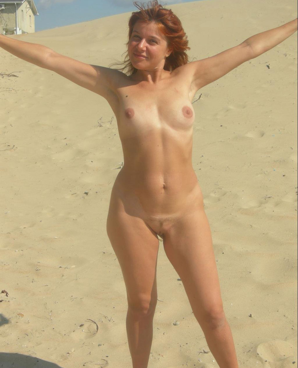 Totally Naked On The Beach