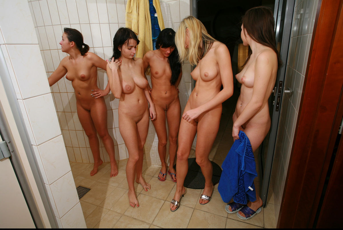 hot girls foursome