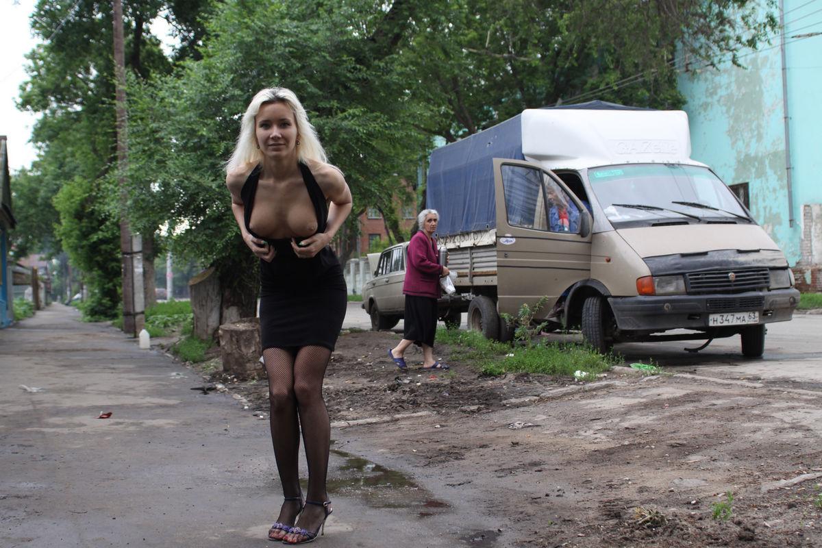 Фото давалок на улице
