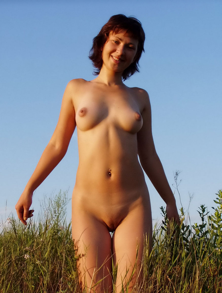 Are not Dark haired naked women outdoors consider