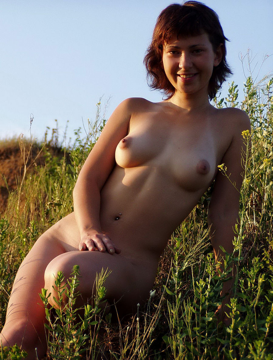 Happens. Shorthaired russian girl posing naked agree, the