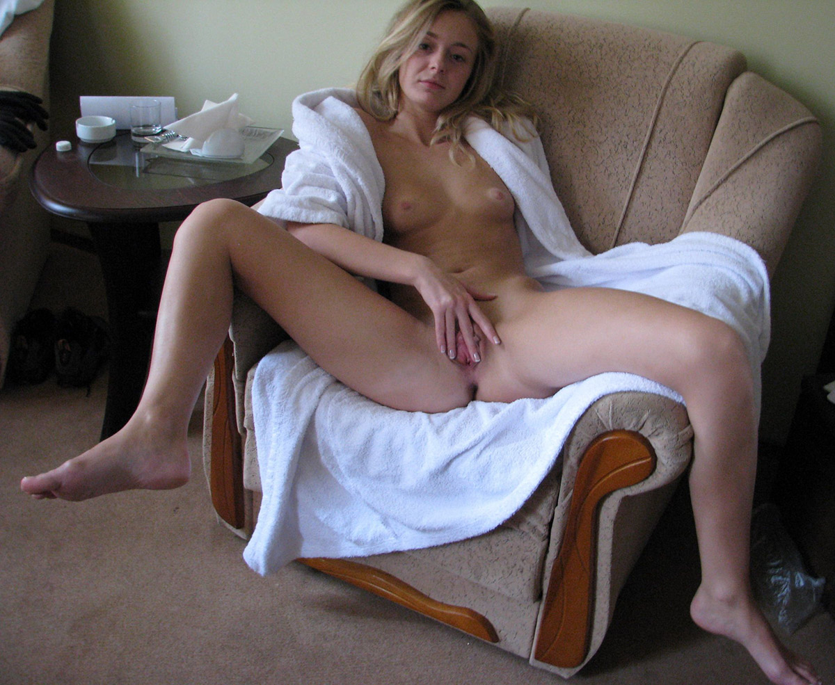 Beautiful blonde masturbating bed he either 10