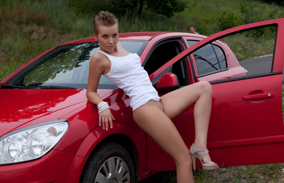 Agree Naked young girl with car mistake