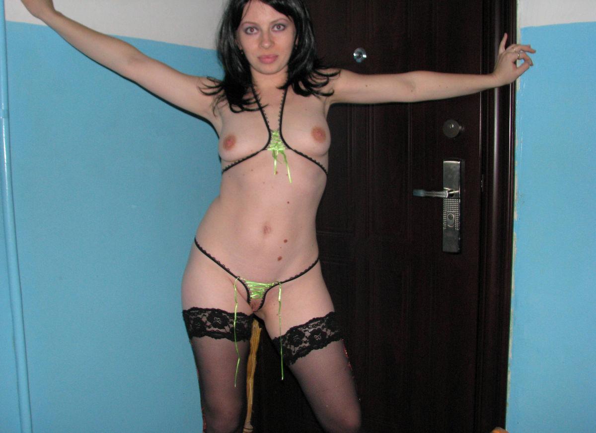 Brunette Milf In Sexy Dress  Russian Sexy Girls-9896