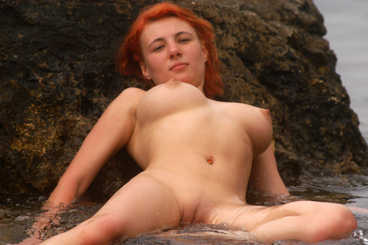 hot naked russian redhead