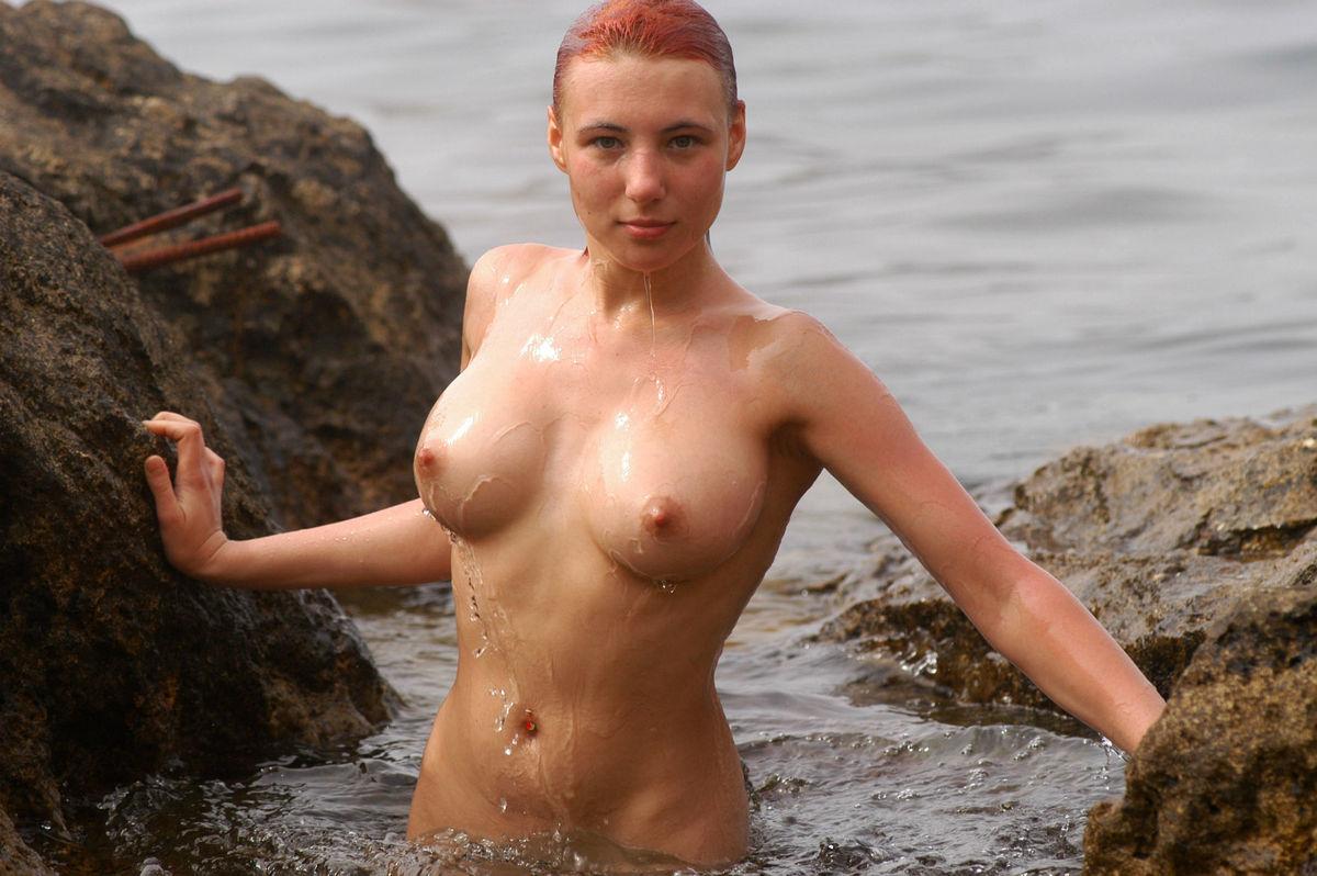 redhead Busty nude russian