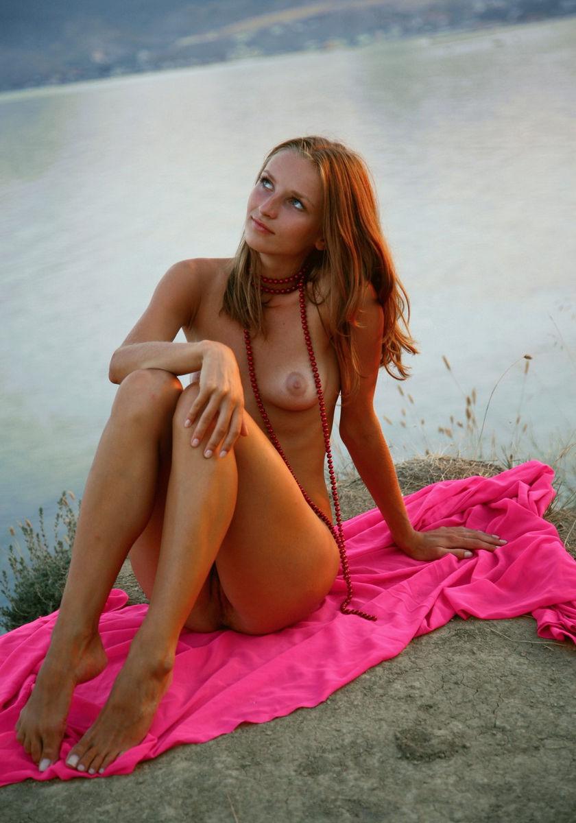 Hot Russian Girl Near Sea  Russian Sexy Girls-3857