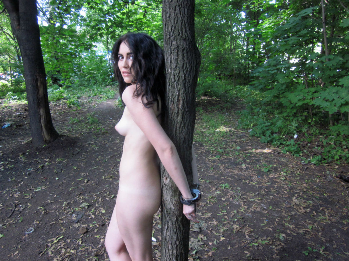Handcuffed Nude Girls Video