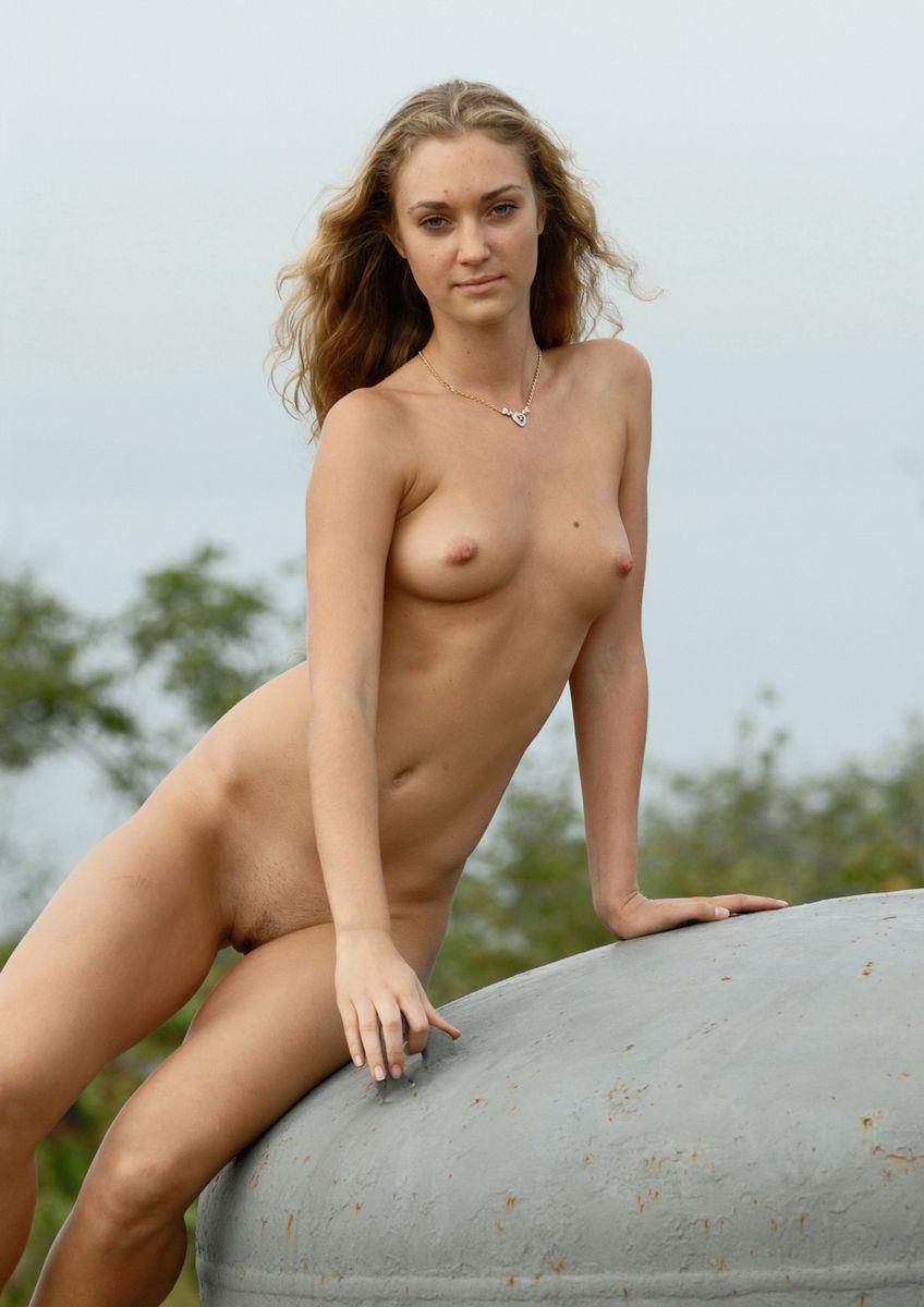 Russian Goddess Undressing Outdoors  Russian Sexy Girls-2171