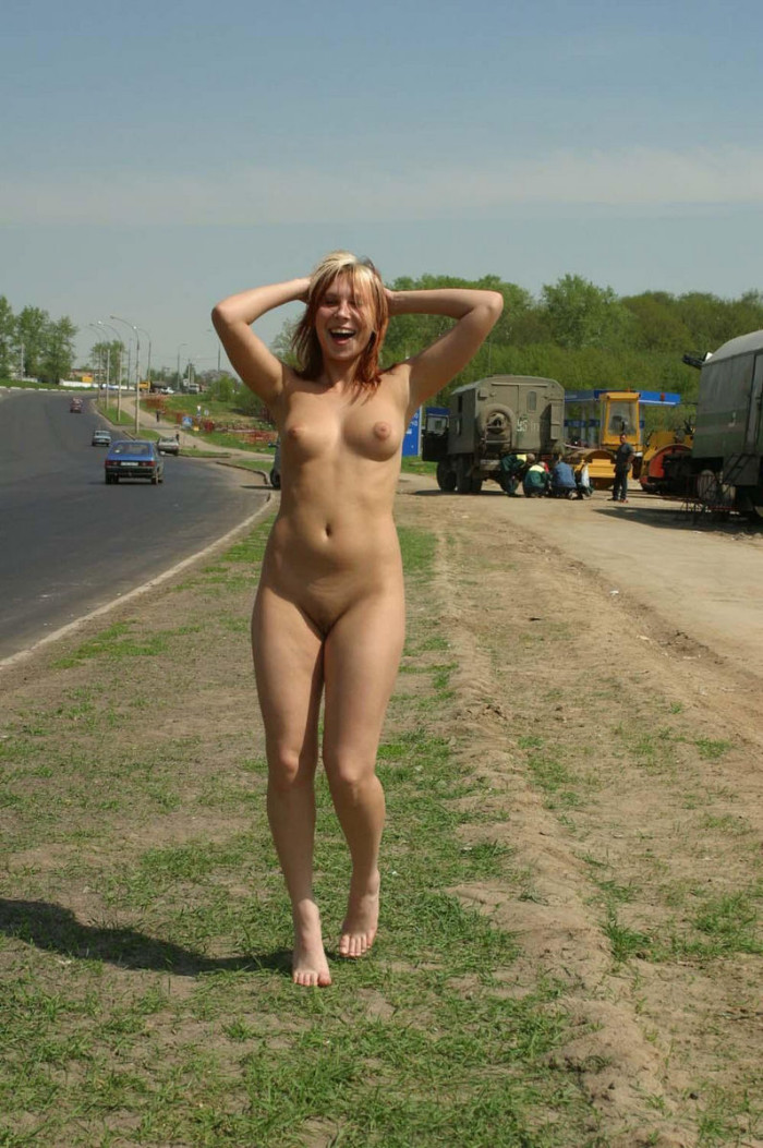 Est superbe walking naked was