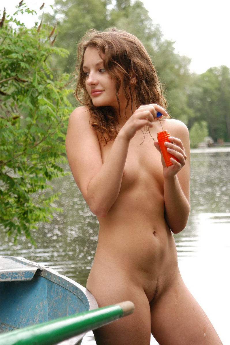 Russian Teens Posing Naked Outdoors S