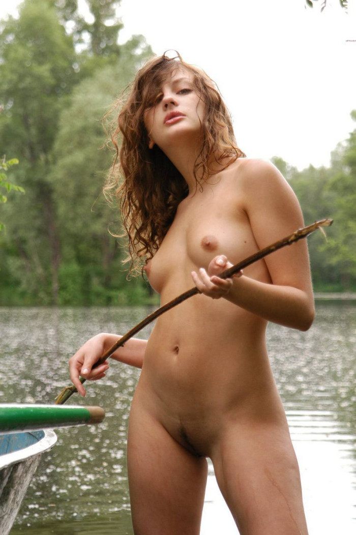 Russian Teens Posing Naked Outdoors  Russian Sexy Girls-8328