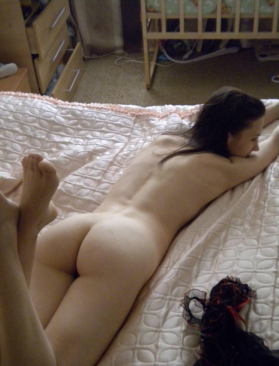 Sexy Brunette Shows Her Skinny Body  Russian Sexy Girls-9980