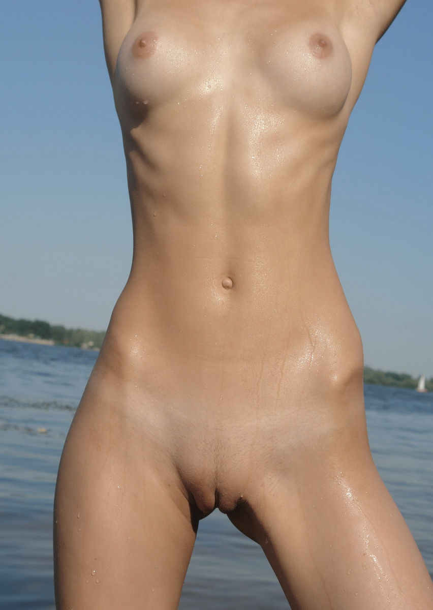 A nudist beach