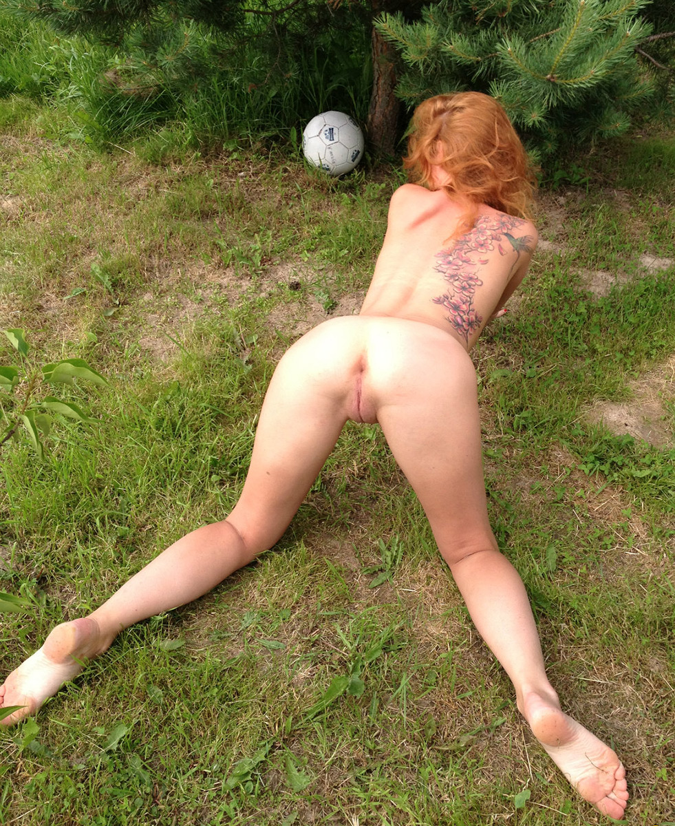 That naked redhead girls outdoors seems me