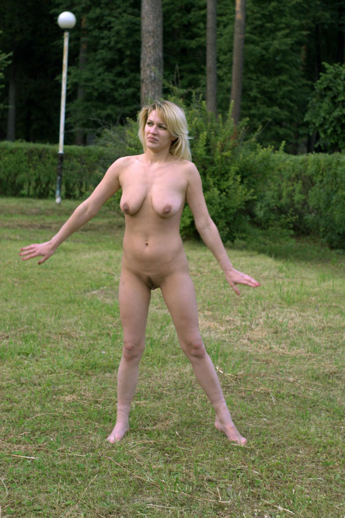 Blonde russian nude models