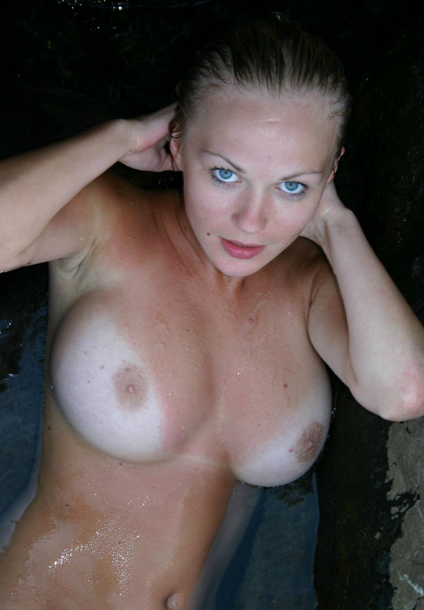 Beautiful blonde big tits hd black male