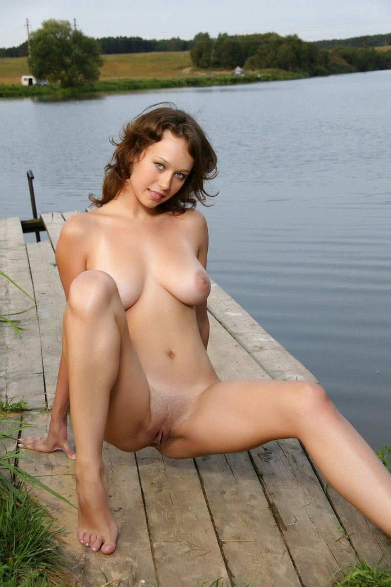 Nude russian girls big tits on boats