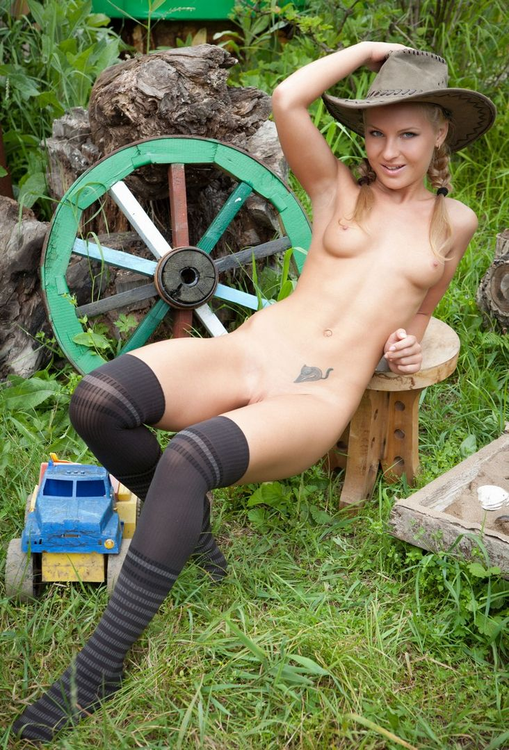 Nude girls chopping wood necessary words