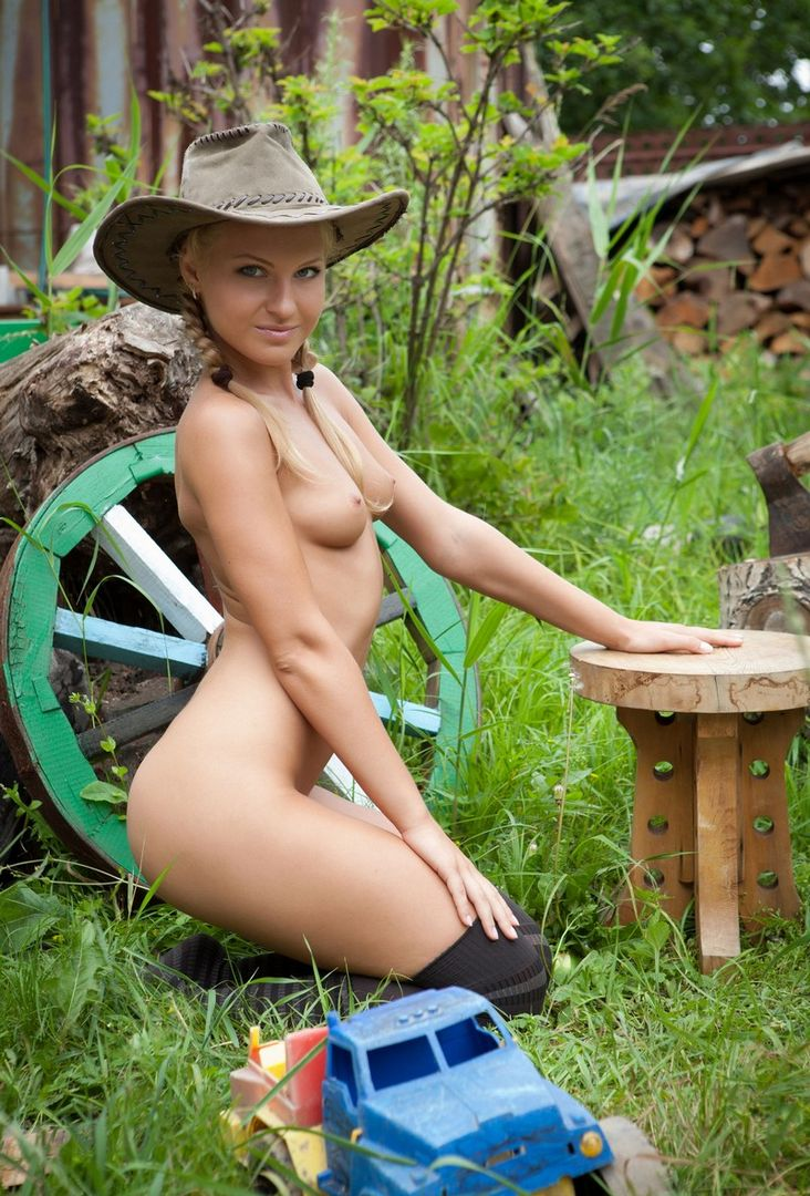 Think, Nude girls chopping wood