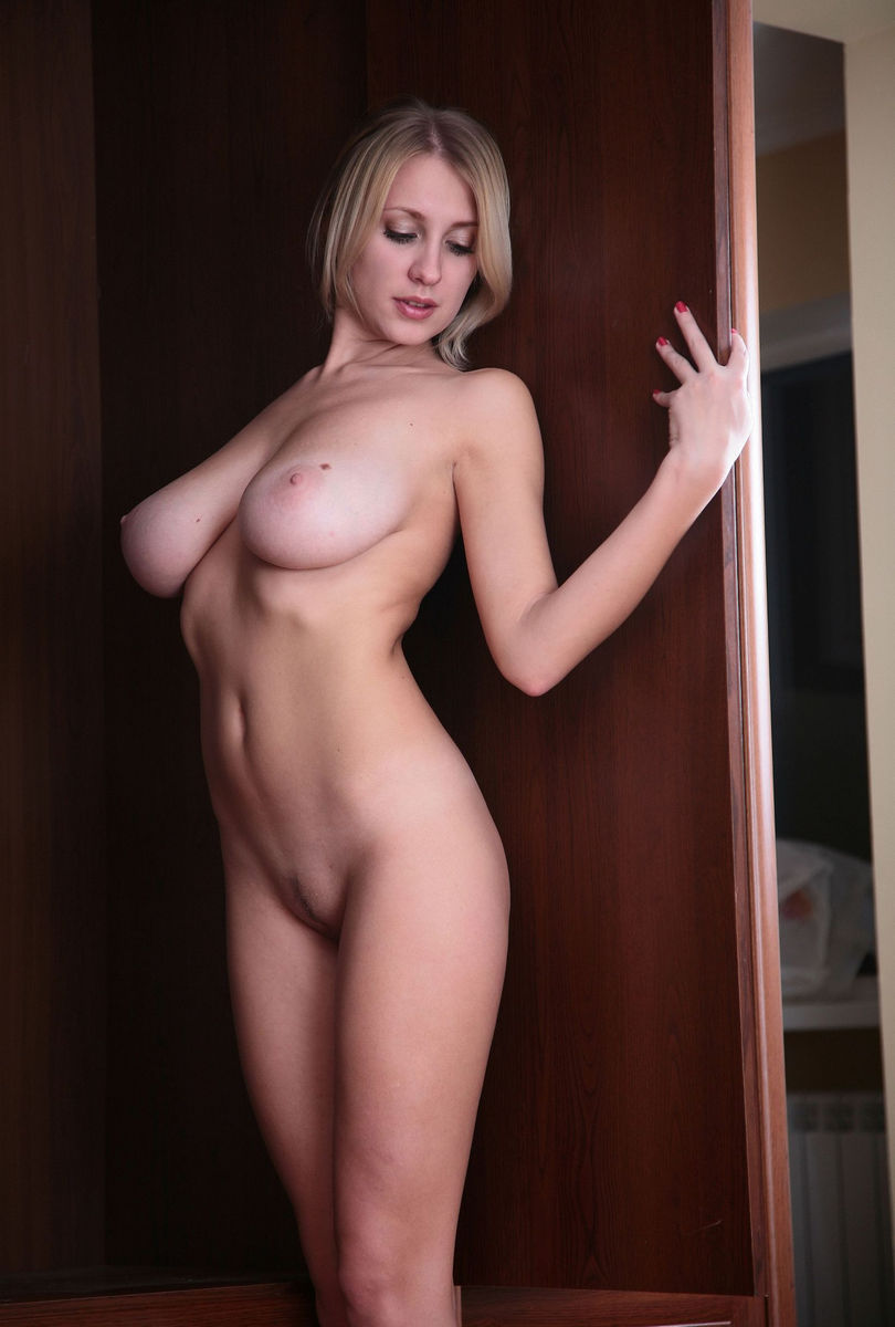 Sexiest Blonde With Huge Boobs At Home  Russian Sexy Girls-4853