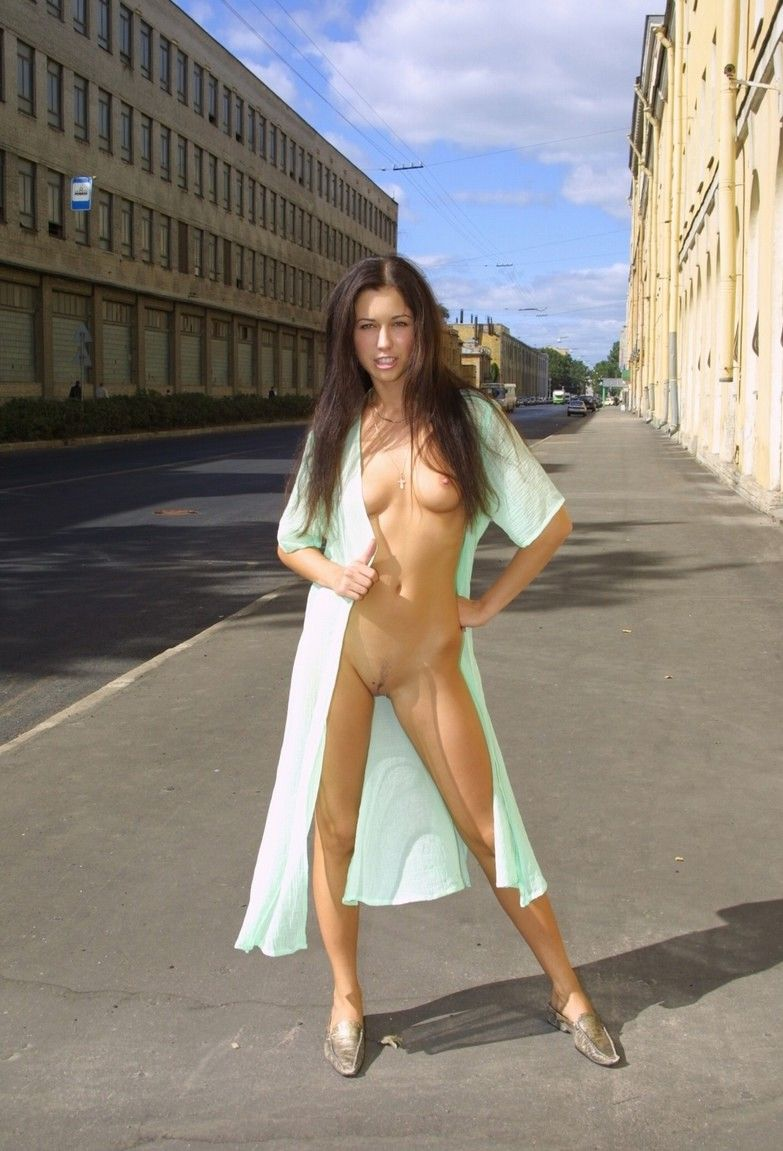 Skinny Goddess Posing Naked At Public  Russian Sexy Girls-7264