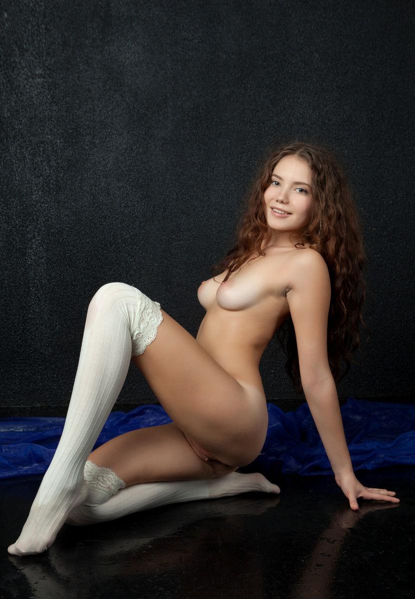 Zelo sladko dekle oddaje Big Pussy ruske Sexy Girls-5510