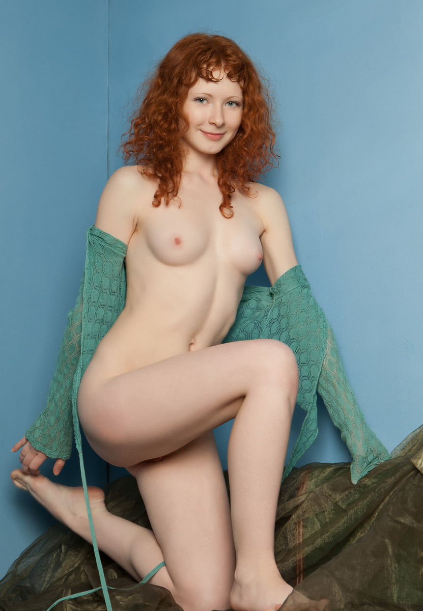 curly ginger blowjob