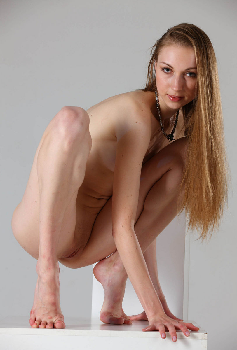 Flexible ballerina annett naked workout 1