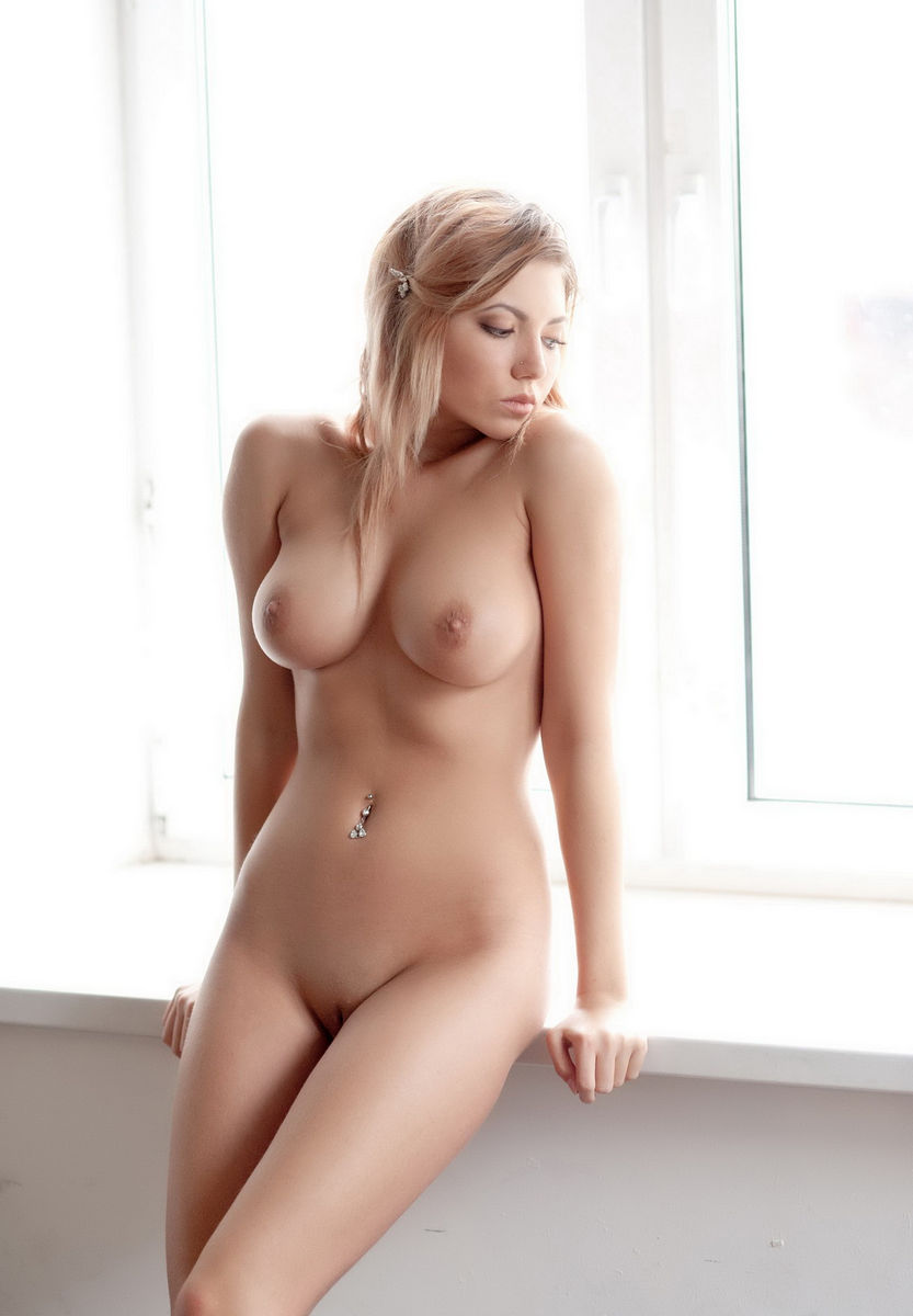 Girl With Perfect Soft Boobs On The Window  Russian Sexy Girls-5312