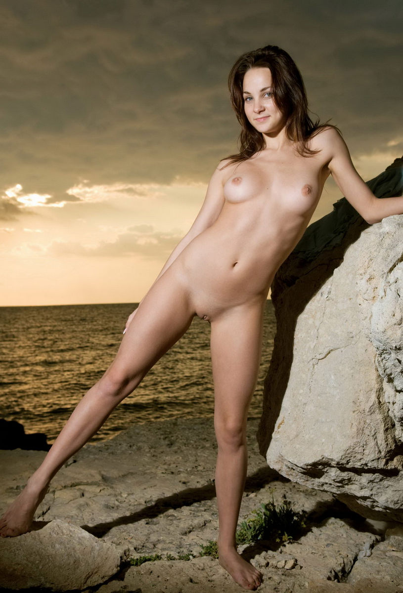 naked and drunk sunset beach shaved pussy
