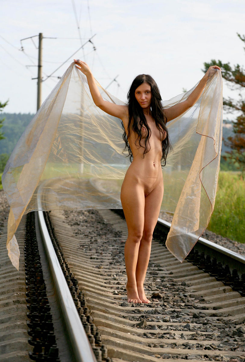 Russian Beautiful Brunette Has Sporty Body And Amazing -5974