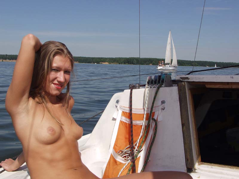 public Teen boat naked