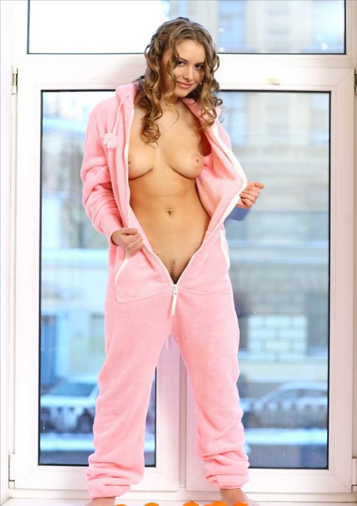 Opinion the X art blonde teen girl pink pajamas