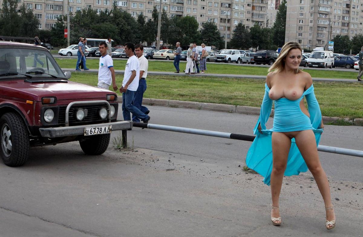 Valuable Public bare breasts