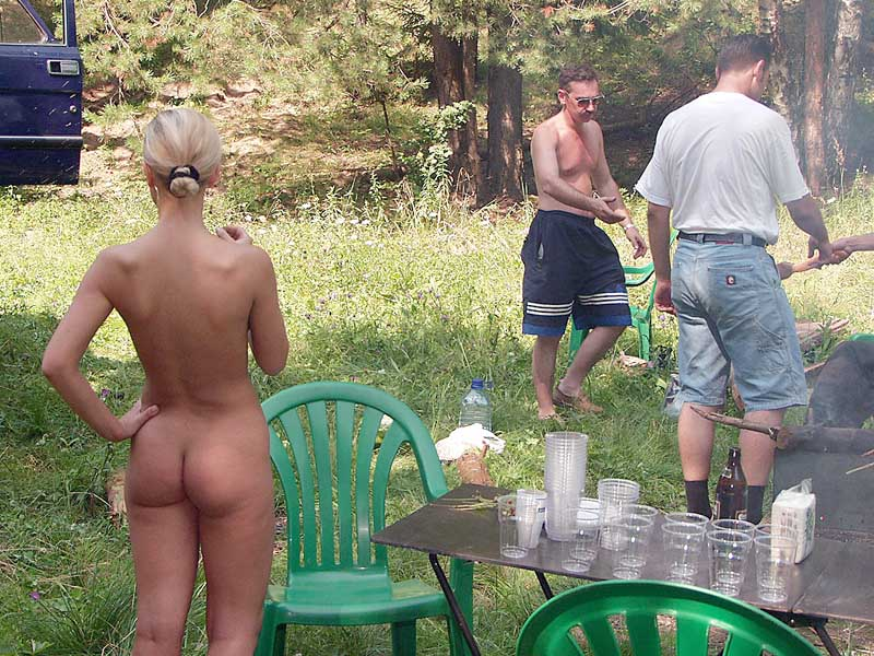 guy is naked in front of woman