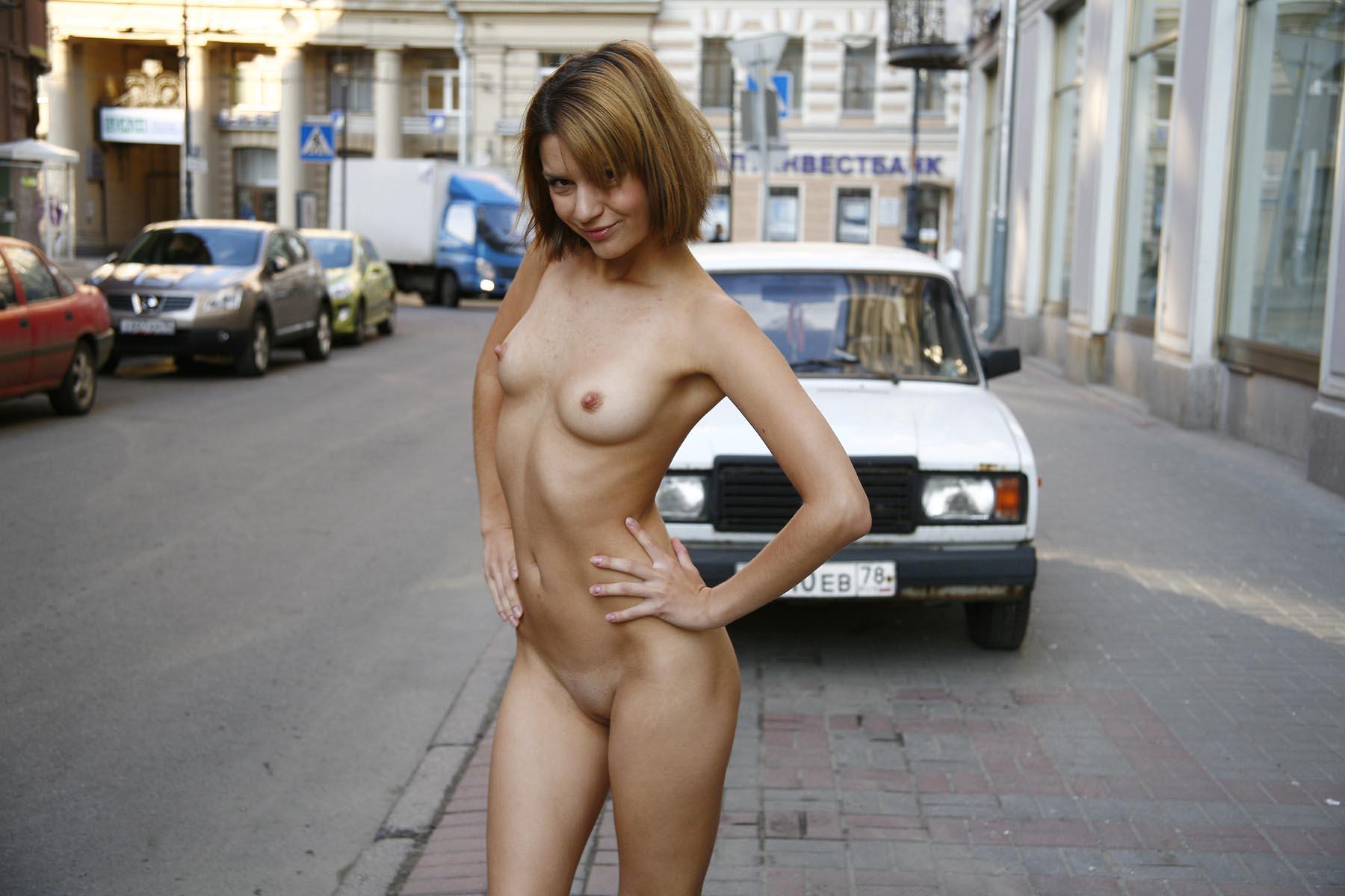 Naked city nudist