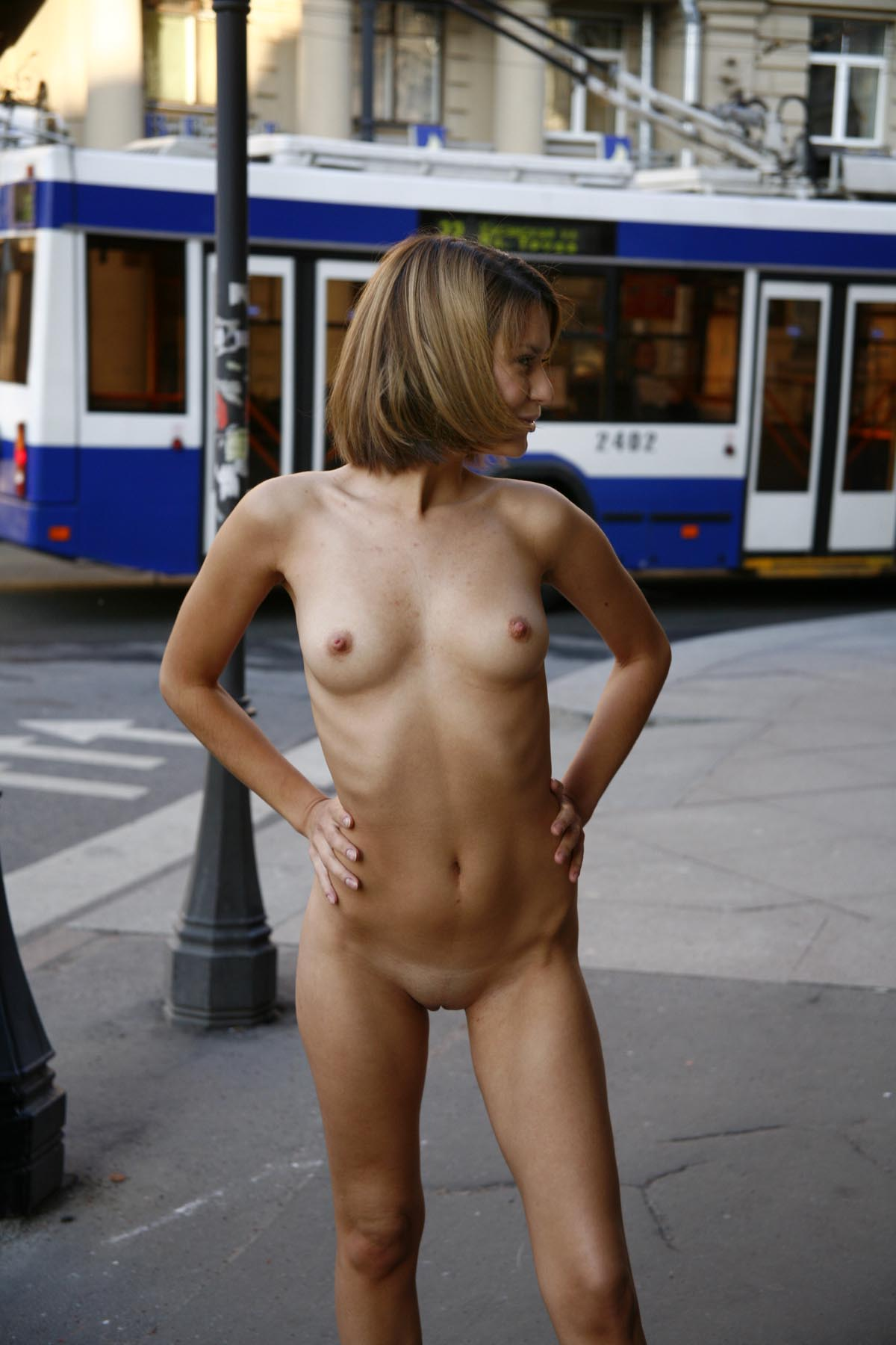 Completely nude girls