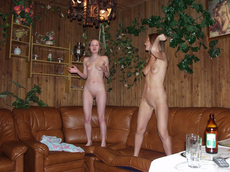 Thought Two nudity horny girls seems good