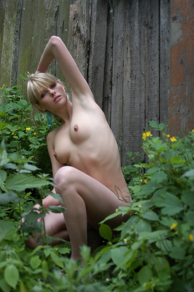 Sexy nude naked billage girl simply