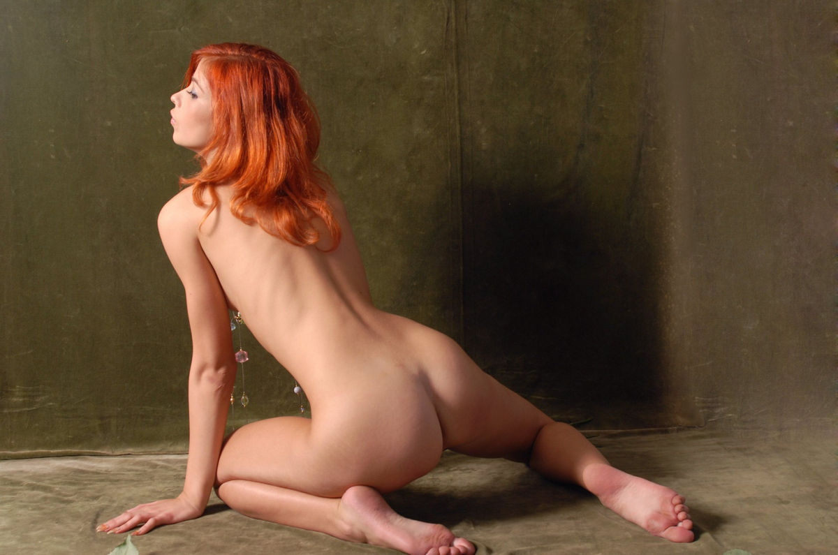 red hair girl blojob