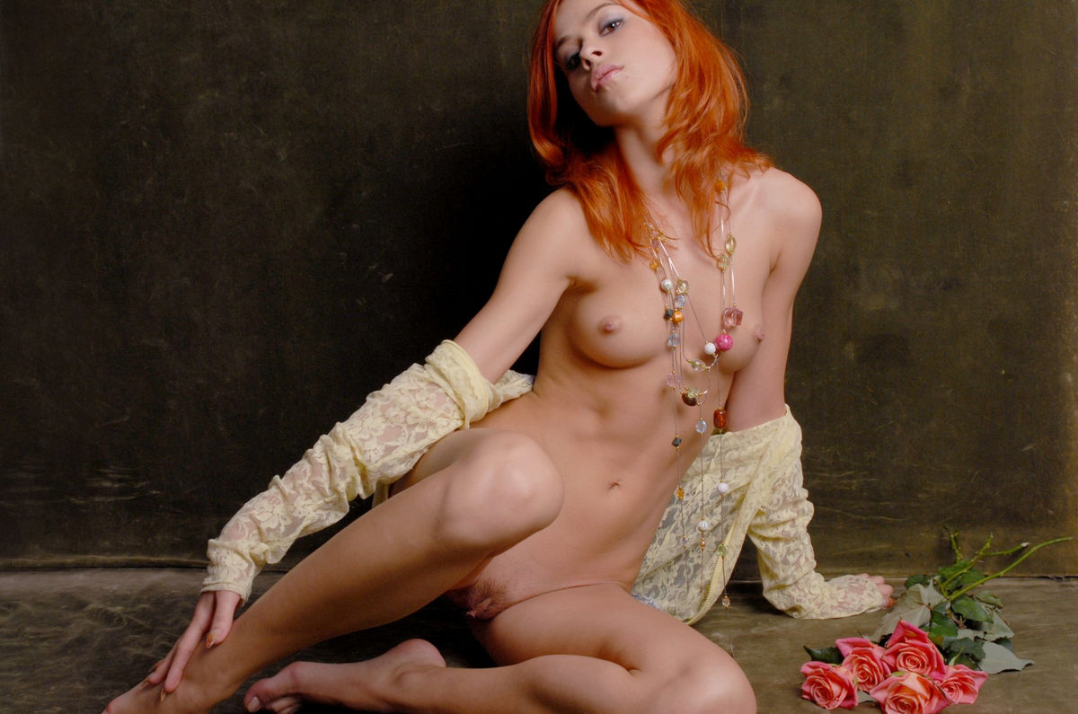 hot red haired girl naked
