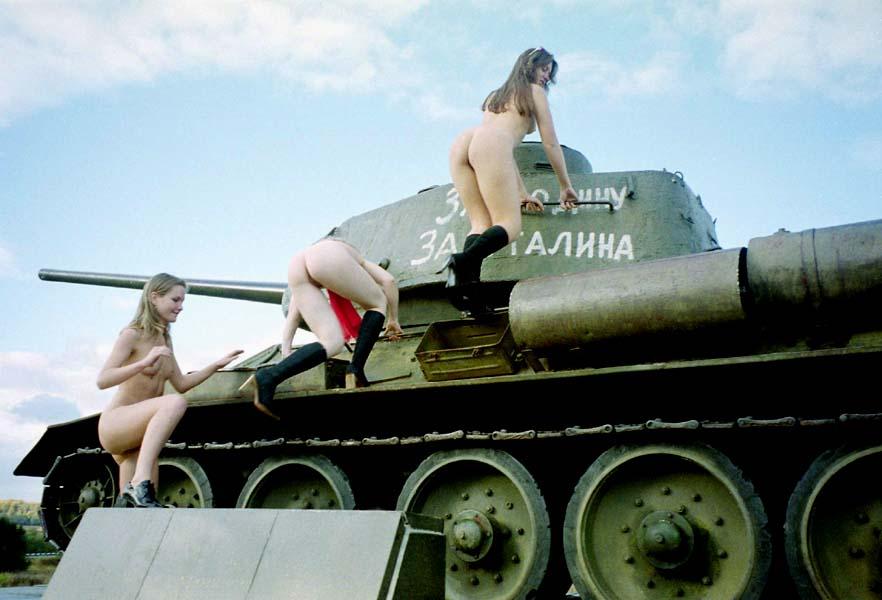 Busty girl nude with bush-3061