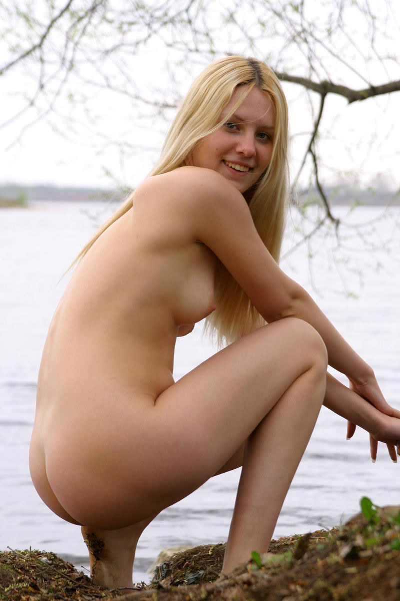 Steaming Adult Young Cute Blonde Teen