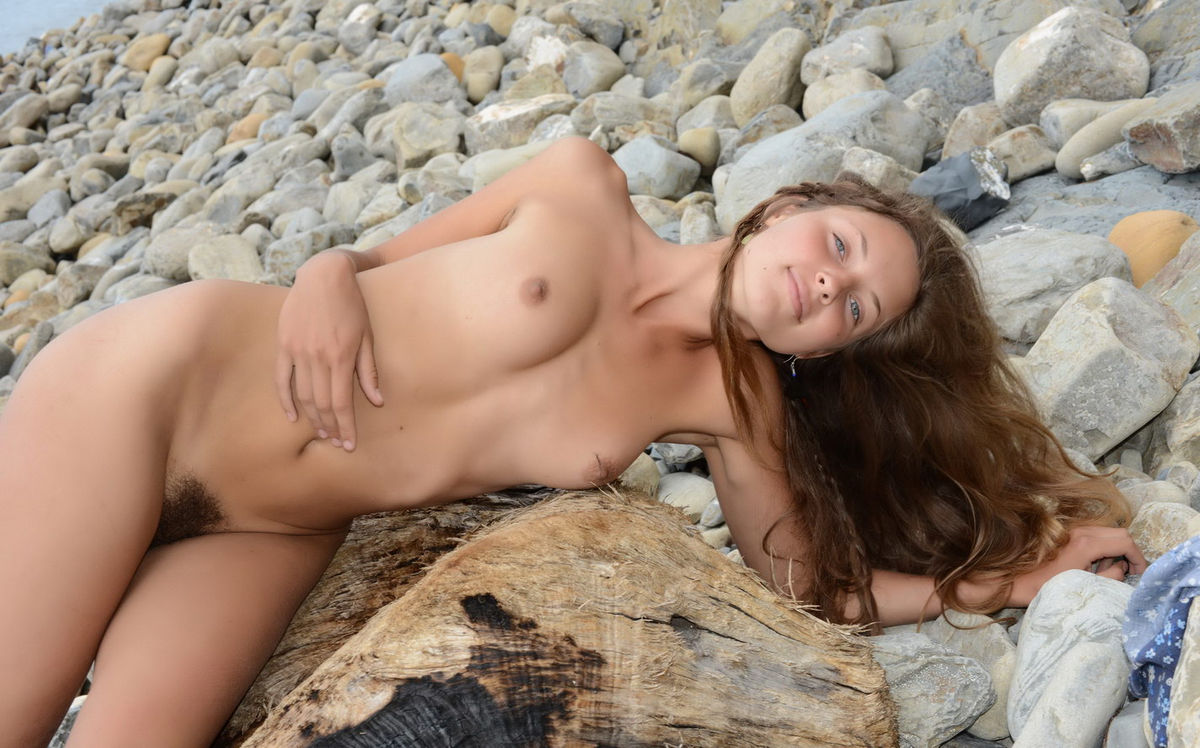 Pussy on beach