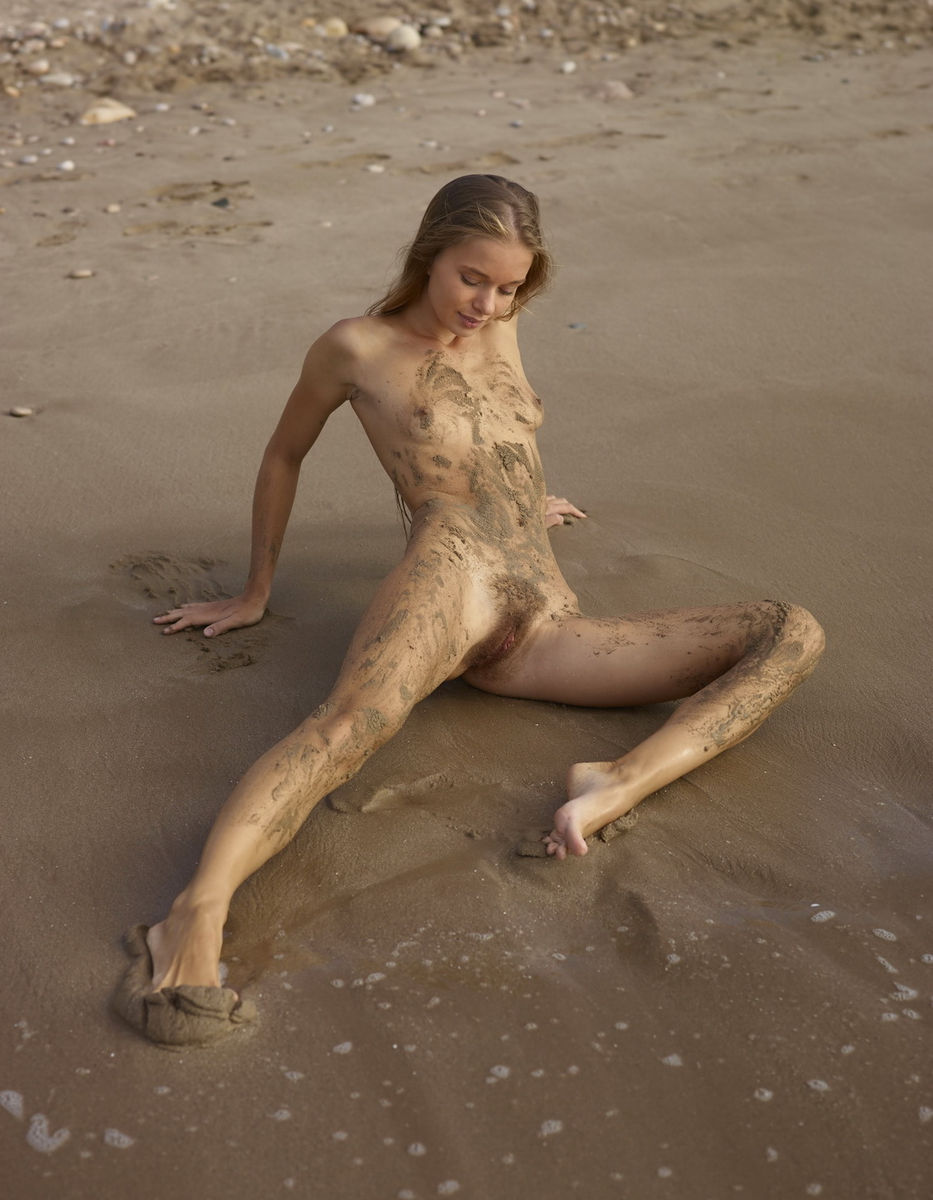 skinny girls on the beach